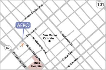 Aero San Mateo Map